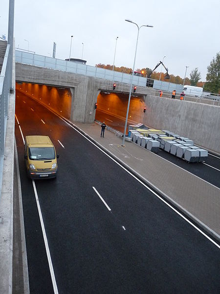 Ulemiste - Järvevana road tunnel Signaline Linear heat detection