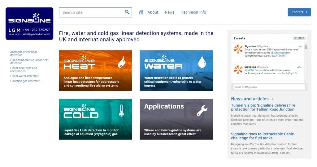 Signaline new website